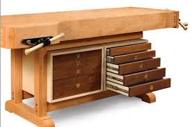 Free Wood Workbench Designs by Tool Cabinet For A Workbench Finewoodworking