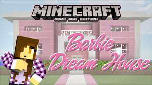 minecraft xbox barbie dream house princess bed 1 youtube