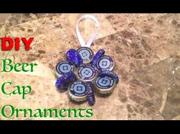 diy cap ornaments