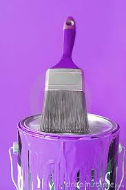 purple paint accent color this was my daughters paint color in
