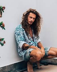 best 25 long curly hair men ideas on pinterest mens hairstyles