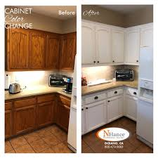 kitchen cabinets color change cabinet color change n hance of the central coast