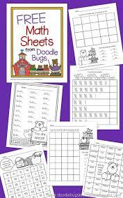 free math printables for first grade math pinterest free