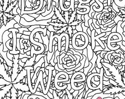 stoner coloring book etsy