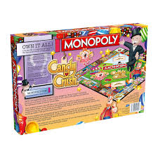 monopoly candy crush board game jeekeo
