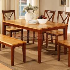 two tone dining table set cherry dining table set geotruffe com