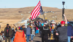 State Flag Of North Dakota Surfers Are Standing With Standing Rock The Inertia