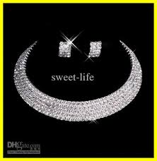 diamond sets design designer 2015 men made diamond earrings necklace party prom
