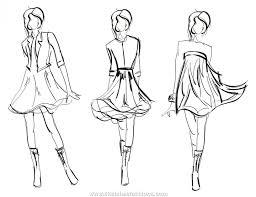 moda sketches black y whiteblack y white dress moda sketch np qzt