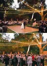 outside weddings outside wedding reception