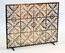 decorative fireplace screens don t to be ordinary hearth