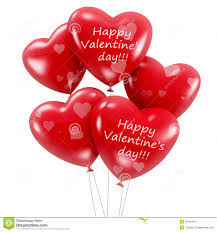 valentines balloons s day heart shaped balloons royalty free stock