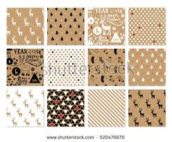christmas kraft wrapping paper christmas wrapping paper stock images royalty free images