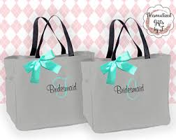 bridesmaids bags bridesmaid tote bag etsy