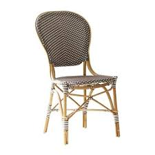 Ka Bistro Chair Sika Design Usa I Handmade Wicker Rattan Cafe Furniture