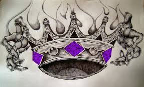another king crown tattoo design photos pictures and sketches