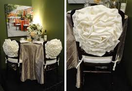 rosette chair covers wedding decor enchanting events page 3