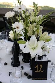 Black And Silver Centerpieces by 12 Best Black White Wedding U0026 Events Images On Pinterest