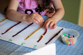 counting bead fun mess for less