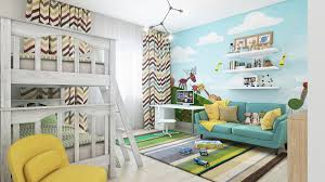 stylish childrens bedroom wall decor pertaining to house decor