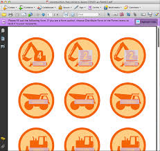 personalized construction vehicles printable for construction hats