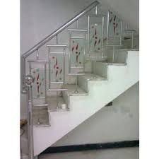 Glass Stairs Design Glass Staircase At Best Price In India