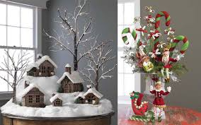 decoration simple design foxy christmas decorating theme ideas for