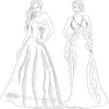 fashion design dress sketch latest fashion style
