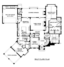 home design house plans with porte cochere french country plan