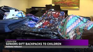 gifts for senior citizens senior citizens gift backpacks to children headed back to school