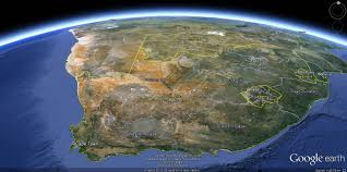 Google Maps Africa by South Africa Map