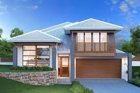 modern split entry house plans hahnow