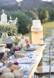 garden themed wedding table green table decor for a woodland
