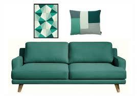 plaid turquoise pour canapé agréable plaid turquoise pour canape 7 la d233co vert