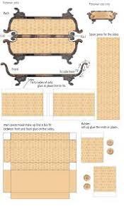 Free Miniature Dollhouse Plans by Doll House Furniture Free Plans Homepeek