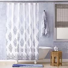 Shower Curtain Indigo Shower Curtain