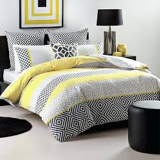 Yellow And Grey Bed Set Yellow Duvet Cover Set Idearama Co