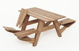 Folding Wooden Bed The Most Incredible Folding Wood Picnic Table Ordinary Csublogs Com