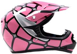 pink motocross bike amazon com youth offroad gear combo helmet u0026 goggles dot