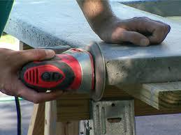 How To Make A Concrete Bench Top How To Make A Concrete Countertop How Tos Diy