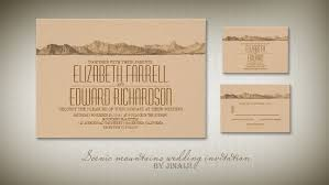 mountain wedding invitations read more mountain wedding invitation wedding invitations by