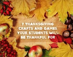 thanksgiving crafts and your students will be thankful for