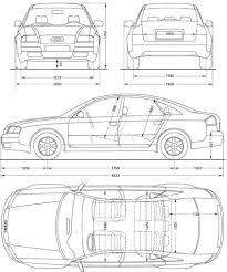 dimension audi a6 the blueprints com blueprints cars audi audi a6