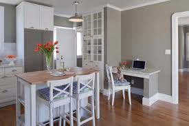 empty kitchen wall ideas 20 clever ideas to design a functional office in your kitchen