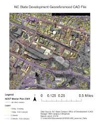 Ncsu Campus Map Autocad Integration Dirtartful
