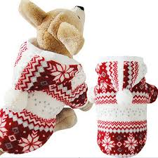 teddy clothes winter warm pet clothes cozy snowflake dog costume clothing
