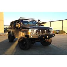 jeep grand cherokee light bar uneek 4x4 gq patrol 88 97 bull bar murchison products 07