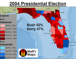 2004 Election Map by September 2012 Mattsmaps