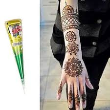 henna cone kit with design book shop henna for tattoos