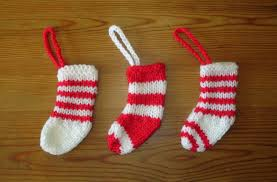 Christmas Stocking Decorations Marianna U0027s Lazy Daisy Days Mini Christmas Stocking Decorations